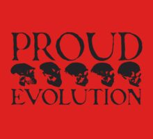 Proud Evolution Skull Baby Tee