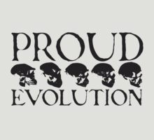 Proud Evolution Skull by himmstudios