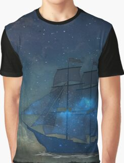 Ships and Stars Graphic T-Shirt