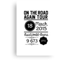 18th March - AsiaWorld-Arena OTRA Canvas Print