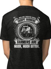 stupid farmer Bird farmer mom piglet farmer farmer wave farmer kids fa Tri-blend T-Shirt