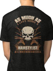 Barber Shop barber zone barbershop barber love barber life barber cant Tri-blend T-Shirt