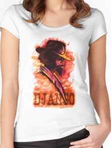 Django Unchained Women's Fitted Scoop T-Shirt