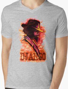 Django Unchained Mens V-Neck T-Shirt