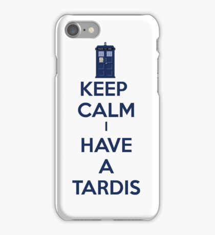 Keep Calm I Have A Tardis iPhone Case/Skin