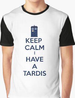 Keep Calm I Have A Tardis Graphic T-Shirt