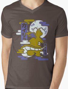 Pokemon Charixad Mens V-Neck T-Shirt
