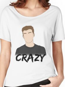 SM - Crazy Women's Relaxed Fit T-Shirt