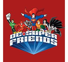 Super Friends Hero Photographic Print