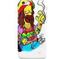 Cover Homer-Ganja  iPhone Case/Skin