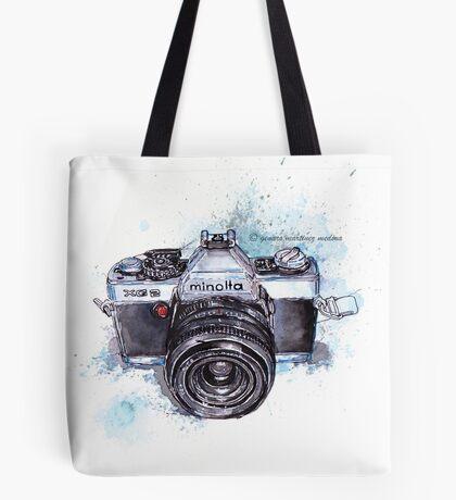 Minolta camera Tote Bag