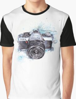 Minolta camera Graphic T-Shirt