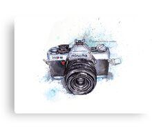 Minolta camera Metal Print