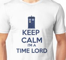 Keep Calm I'm A Time Lord Unisex T-Shirt