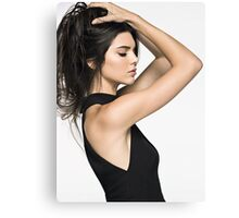 Kendall Jenner Hair 2 Canvas Print