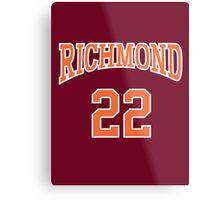 Timo Cruz 22 Richmond Oilers Home Basketball Shirt  Metal Print