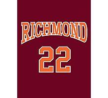 Timo Cruz 22 Richmond Oilers Home Basketball Shirt  Photographic Print