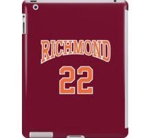 Timo Cruz 22 Richmond Oilers Home Basketball Shirt  iPad Case/Skin