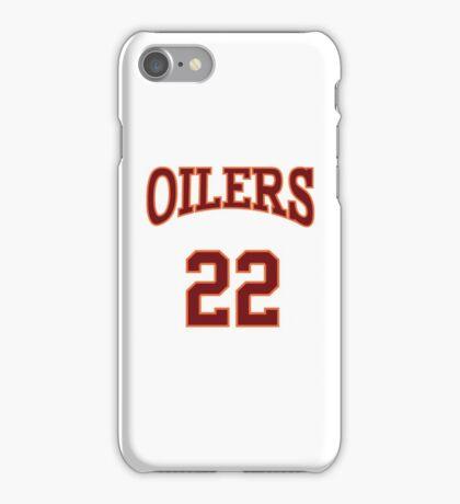 Timo Cruz 22 Richmond Oilers Away Basketball Shirt  iPhone Case/Skin