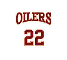 Timo Cruz 22 Richmond Oilers Away Basketball Shirt  Photographic Print