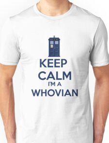 Keep Calm i'm a whovian Unisex T-Shirt