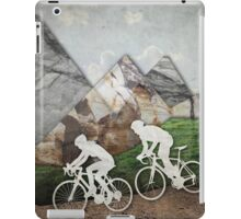 Biking Couple iPad Case/Skin