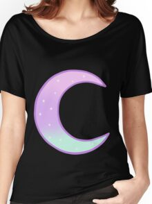 Pastel Moon Women's Relaxed Fit T-Shirt