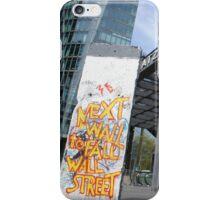 Berlin Wall - Potsdamer Platz iPhone Case/Skin