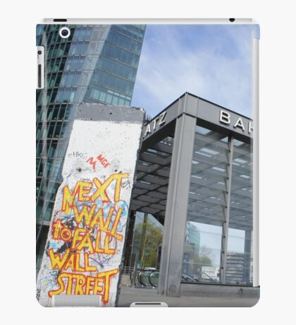 Berlin Wall - Potsdamer Platz iPad Case/Skin