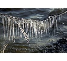 Ice Curtain Photographic Print