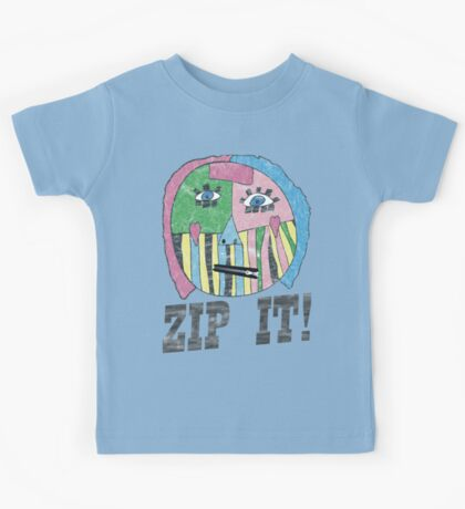 ZIP IT!  Kids Tee