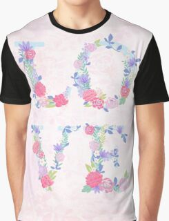 Floral love Graphic T-Shirt