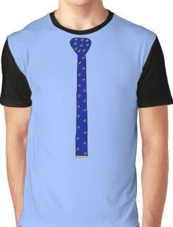 Bird Knit Tie Graphic T-Shirt