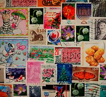 Stamps Series 4 by tropicalsamuelv