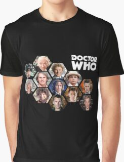 Doctor Who: 50 Years of Time and Space Graphic T-Shirt