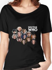 Doctor Who: 50 Years of Time and Space Women's Relaxed Fit T-Shirt