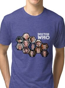 Doctor Who: 50 Years of Time and Space Tri-blend T-Shirt