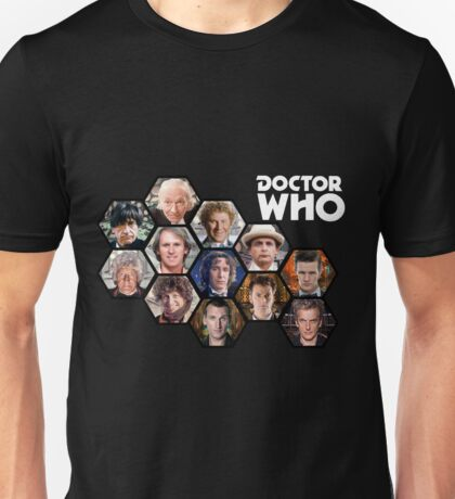 Doctor Who: 50 Years of Time and Space Unisex T-Shirt