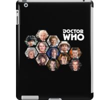 Doctor Who: 50 Years of Time and Space iPad Case/Skin