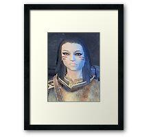 Daedra The Dragon Born Framed Print
