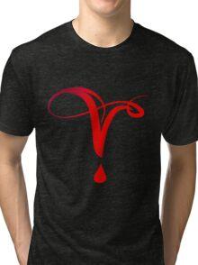 Vampire Diaries Symbol Tri-blend T-Shirt
