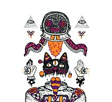 Space Totem Photographic Print