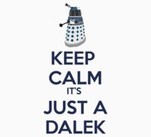 Keep Calm It's just a dalek by Winkham