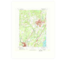 New York NY Saratoga Springs 129389 1967 24000 Art Print