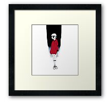 THE WEIGHT OF EXISTENCE Framed Print