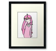 Adventure Time- Princess Bubblegum Framed Print