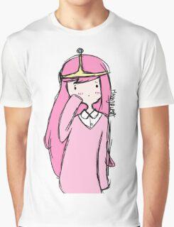 Adventure Time- Princess Bubblegum Graphic T-Shirt