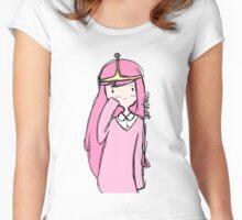 Adventure Time- Princess Bubblegum Women's Fitted Scoop T-Shirt