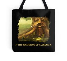 Beginning of a Legend Tote Bag