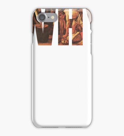 WHY? iPhone Case/Skin